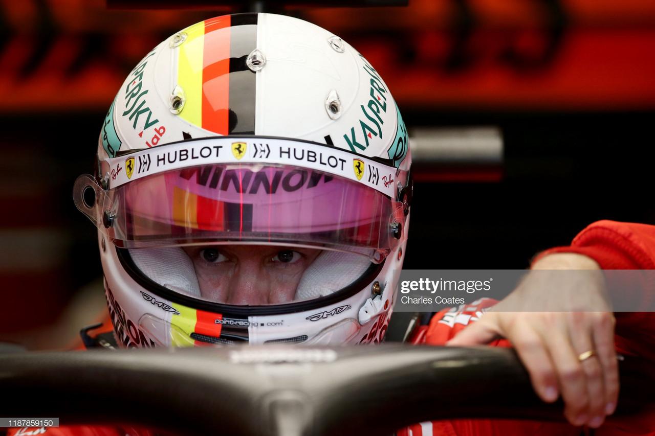 Ferrari top the timings in FP2
