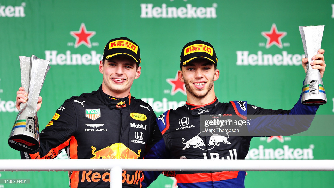 Honda take one-two finish as Verstappen wins epic Brazil Grand Prix