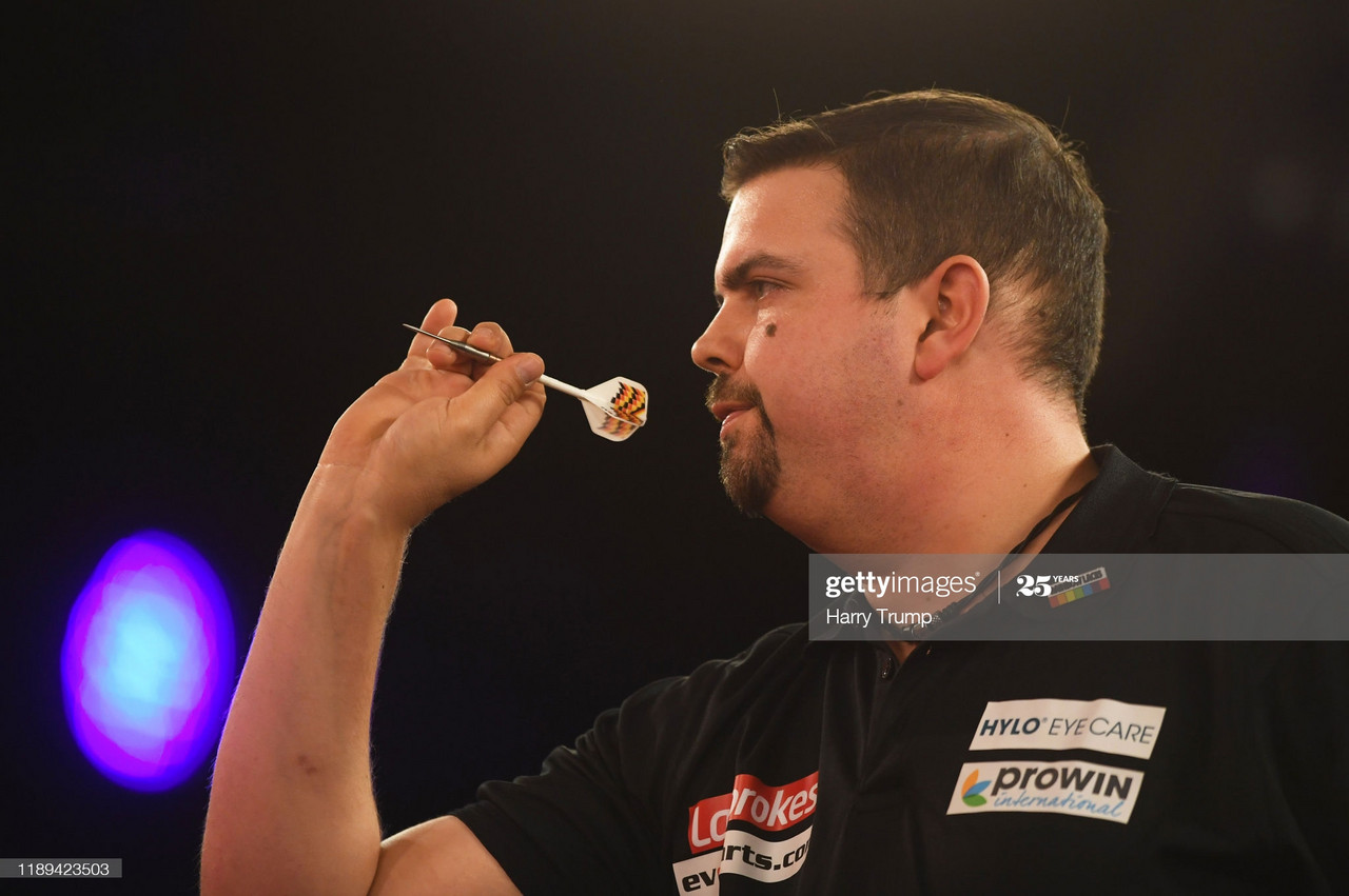 Betfred World Matchplay first round: defending champion makes shock exit