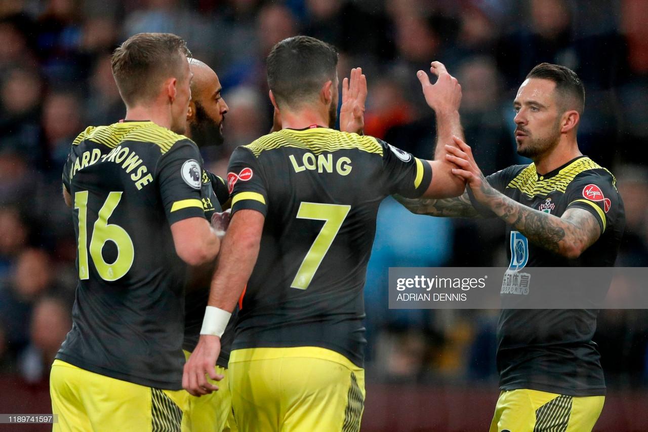 Aston Villa 1-3 Southampton: Villa slip into bottom three
