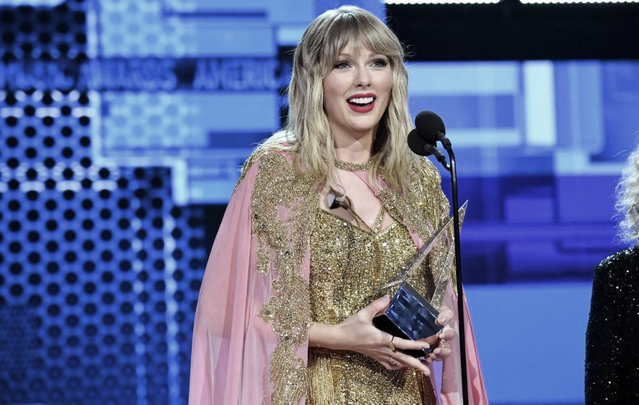 Taylor Swift, gran triunfadora de los American Music Awards 2019