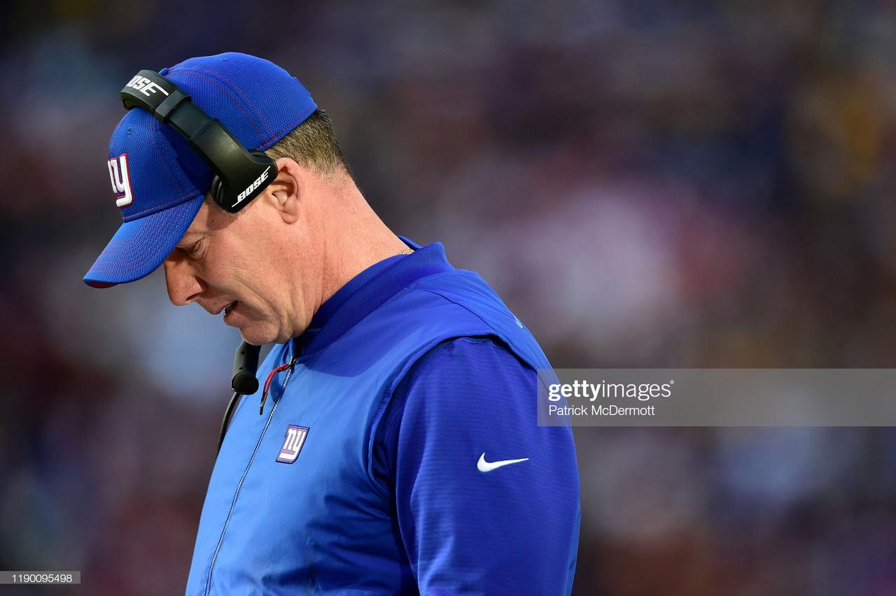 New York Giants fire head coach Pat Shurmur
