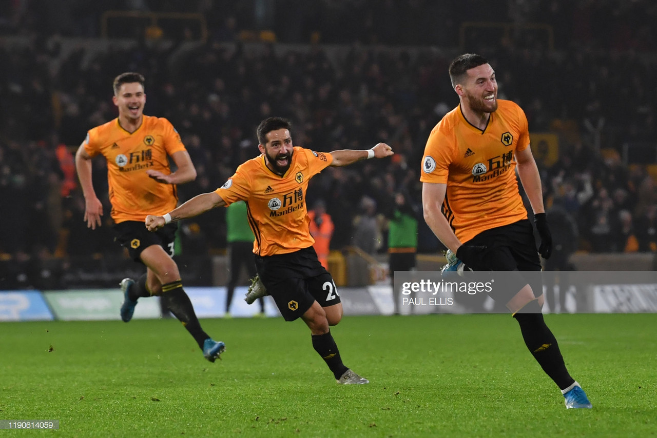 Wolves produce astonishing comeback after Manchester City let two-goal lead slip