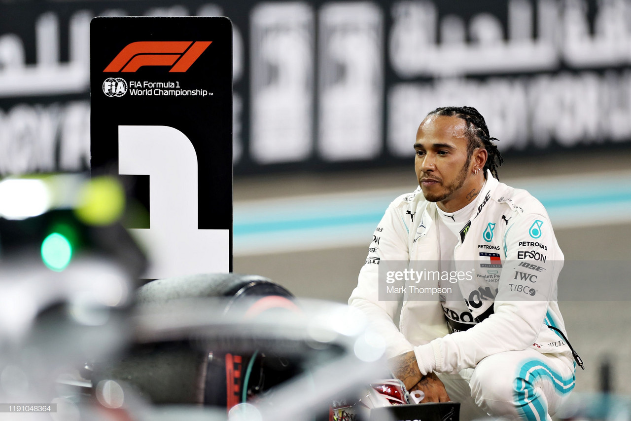 Hamilton takes pole at final qualifying of 2019 in Abu Dhabi