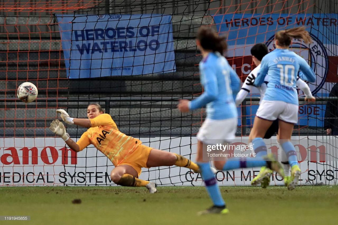 Tottenham Hotspur Women 1-4 Man City Women Match Report: Citizens outclass hapless Spurs