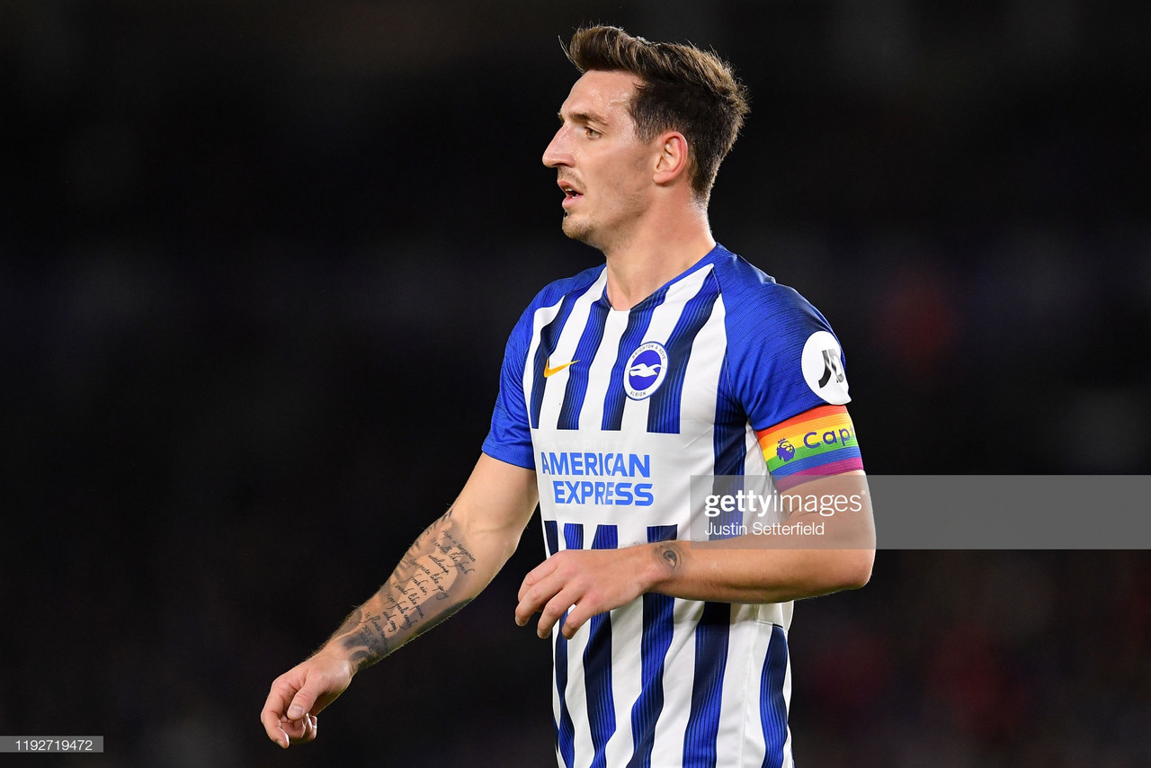 Lewis Dunk expects positive Brighton reaction ahead of Tottenham clash