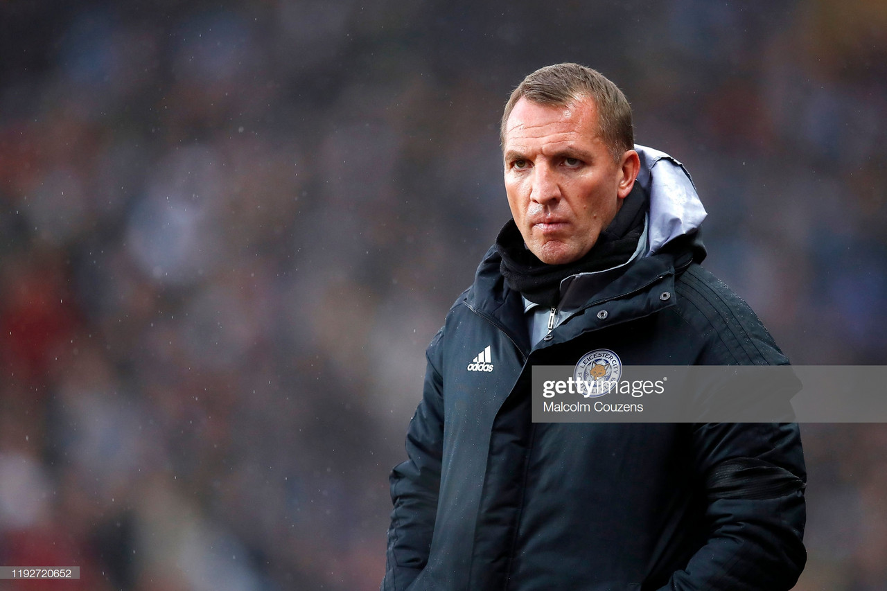 Brendan Rodgers looking to break Leicester curse by progressing to semi finals