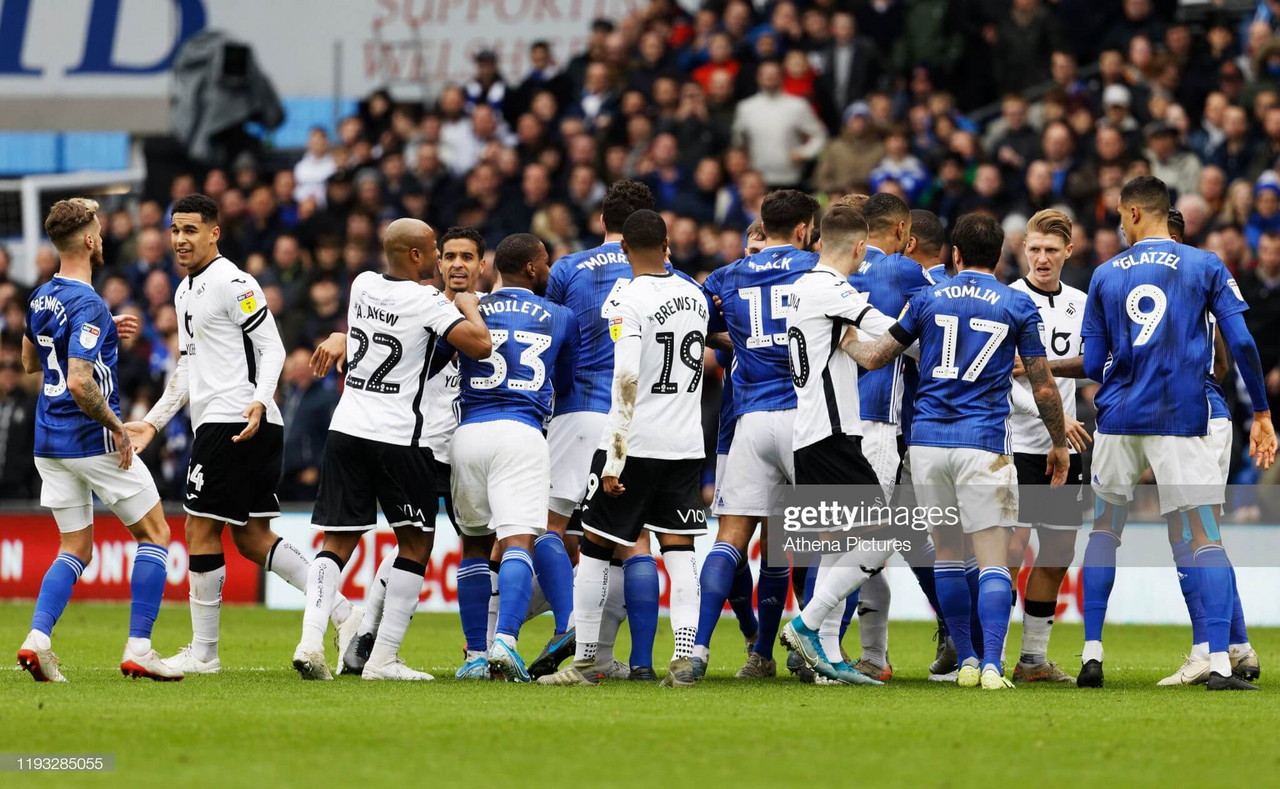 Cardiff City 0-0 Swansea City - The points are shared in close-fought South Wales derby