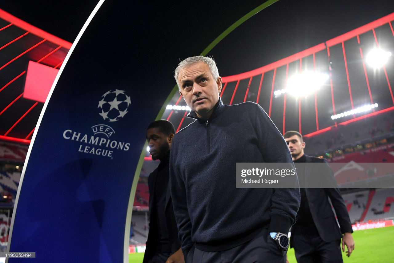 Bayern Munich 3-1 Tottenham Hotspur: Live Updates