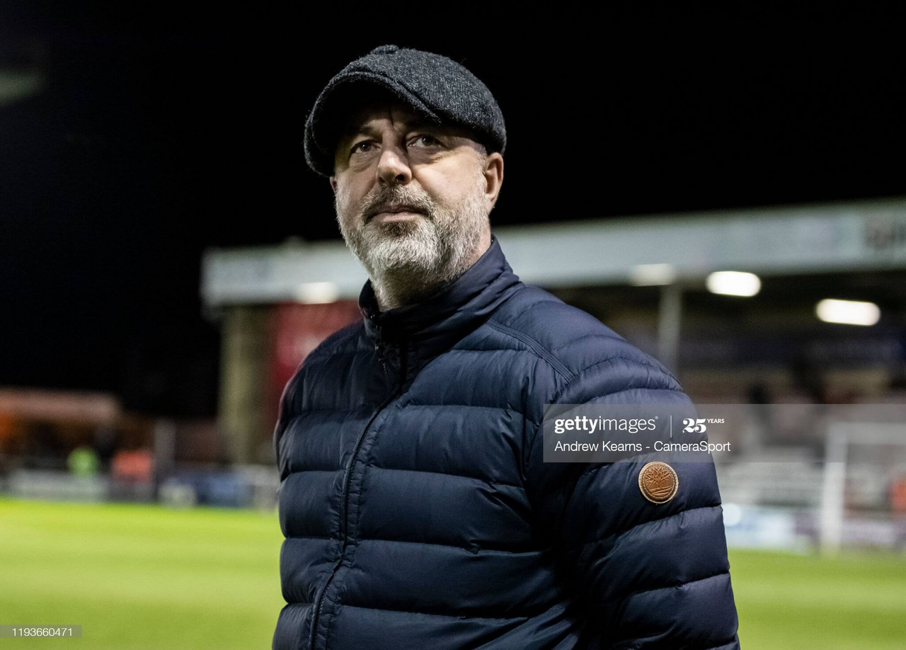 Keith Hill starts life as Tranmere boss tonight (Photo by Andrew Kearns - CameraSport via Getty Images)