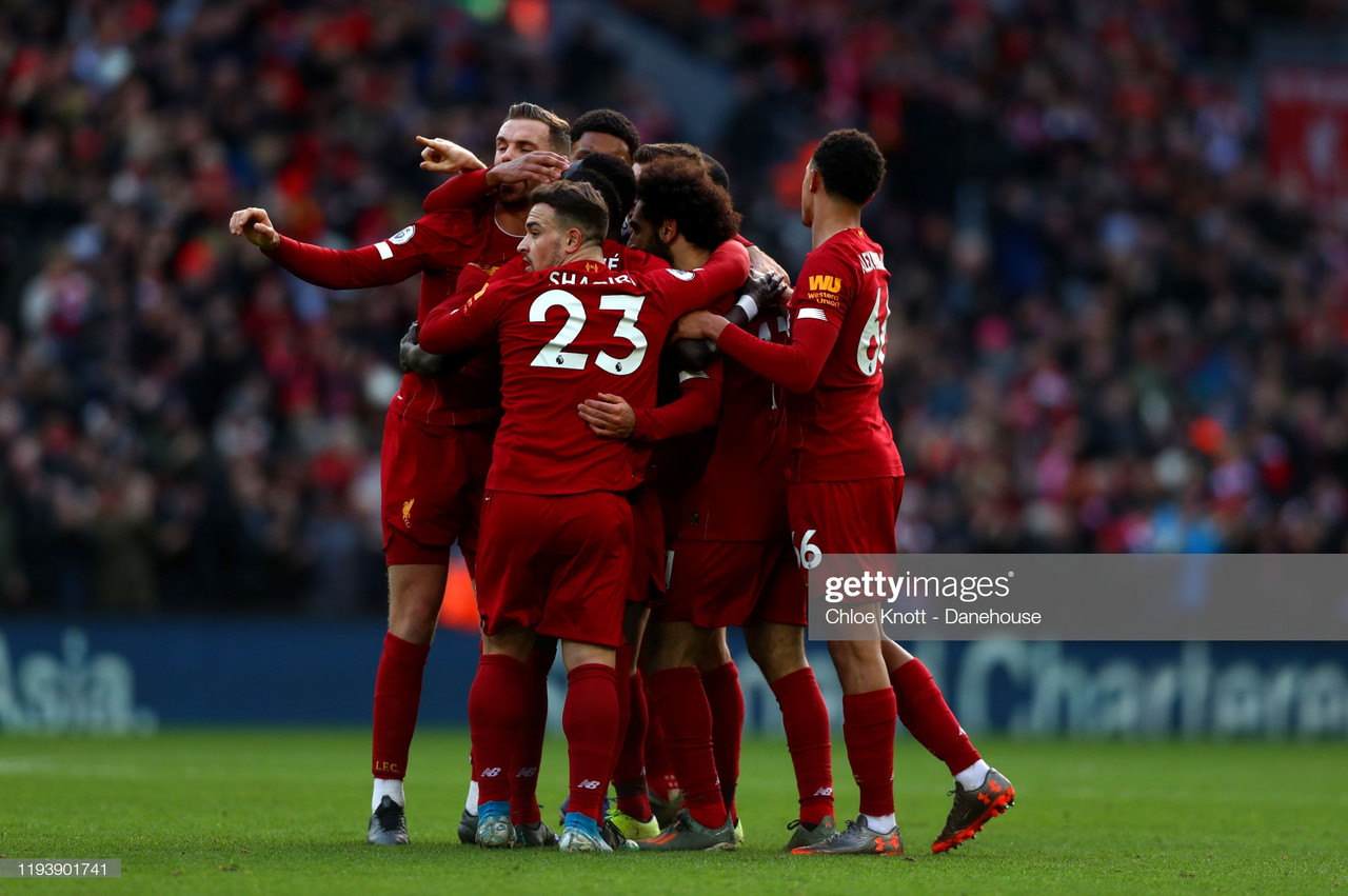 Liverpool 2-0 Watford: Salah puts on a show at Anfield