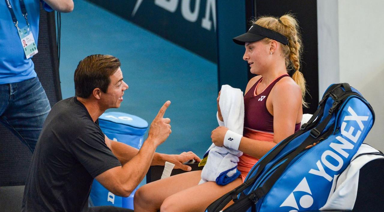 Sascha Bajin and Dayana Yastremska part ways after less than a year together