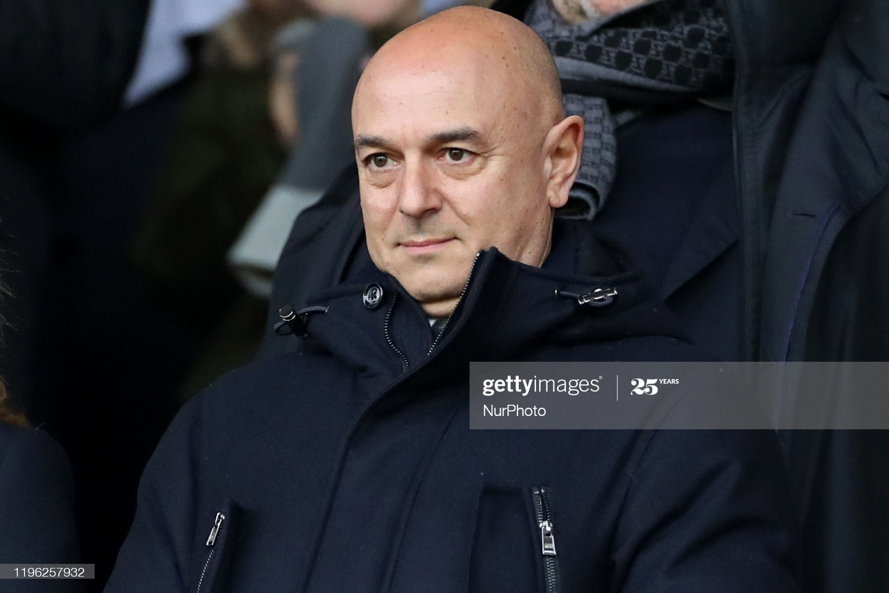 20 years of Daniel Levy: The man with the plan?