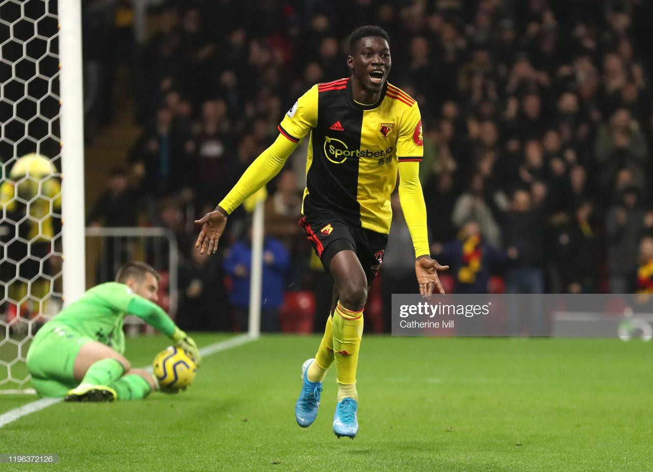 Watford 3-0 Aston Villa: Watford's great escape is in full swing