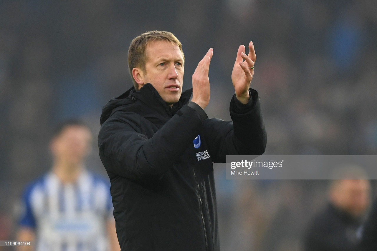 "Graham Potter lauds ""amazing performance"" in Brighton's draw with Chelsea"