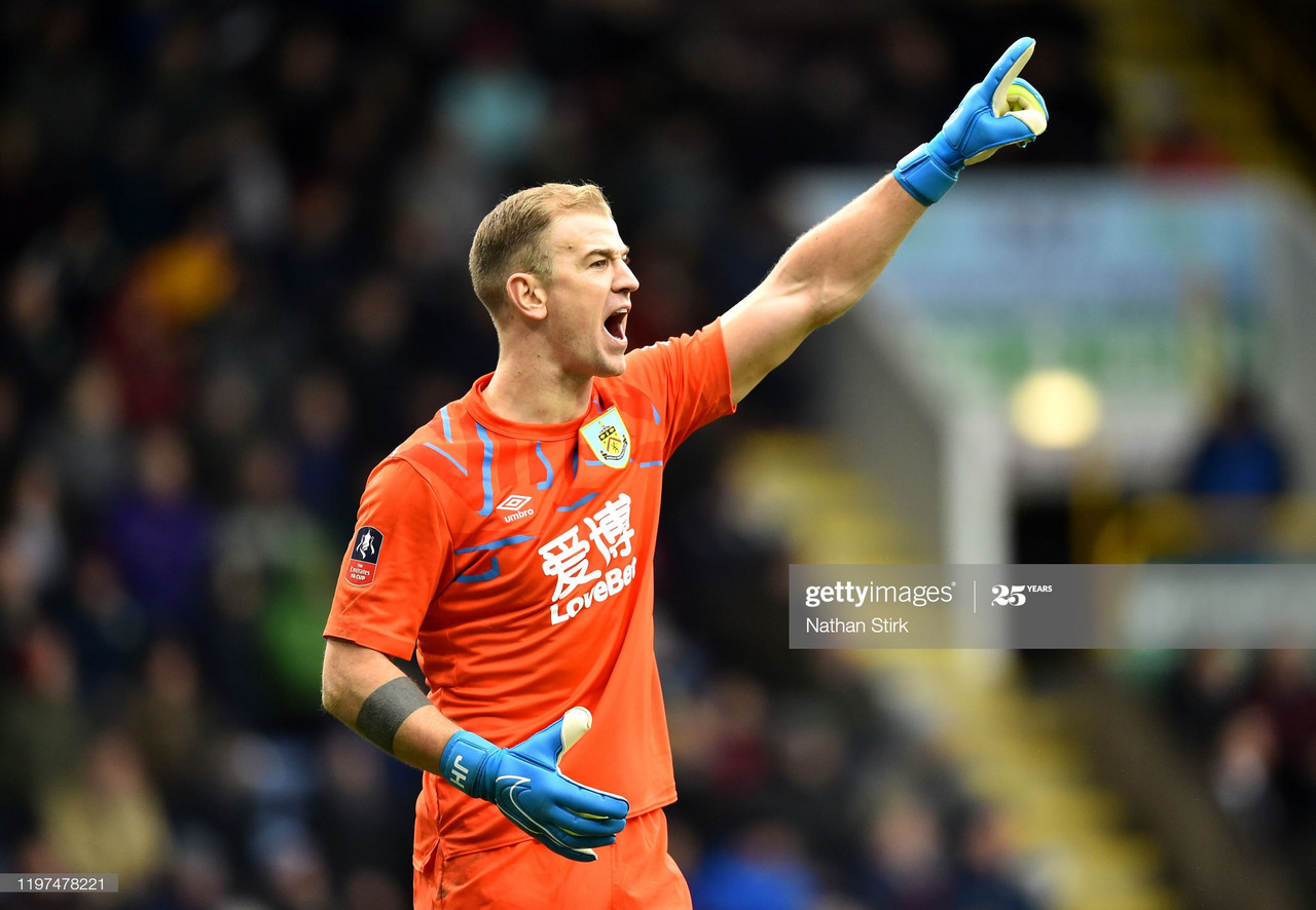 Joe Hart to leave Burnley