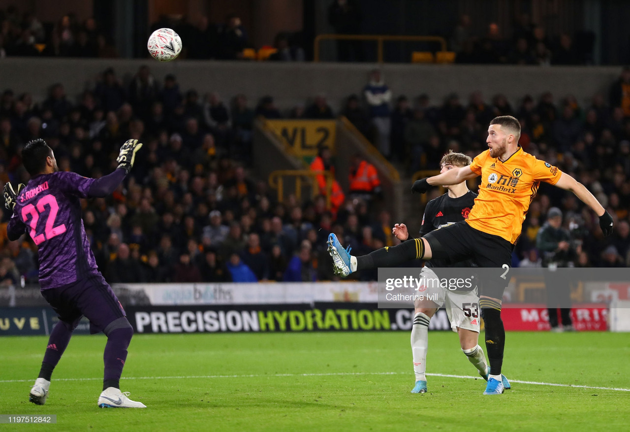 Wolves 0-0 Manchester United: Doherty's disallowed goal sees The Reds host replay match at Old Trafford.