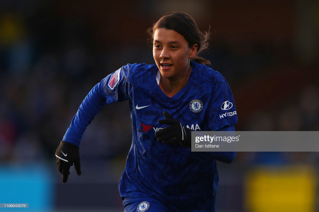 Chelsea Women 6-1 Bristol City: Emma Hayes' side keep up momentum in title chase