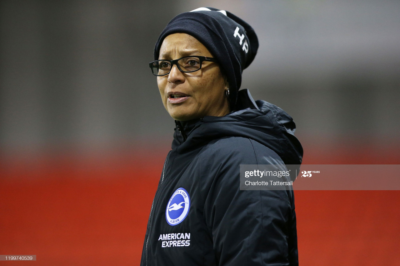 """It's a real team effort"" - Hope Powell's thoughts after Brighton hold Manchester City to a 0-0 draw at the Academy Stadium"
