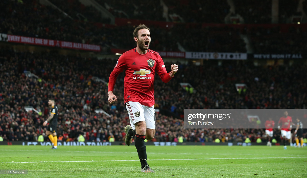 Juan Mata steps up in Manchester United's time of need