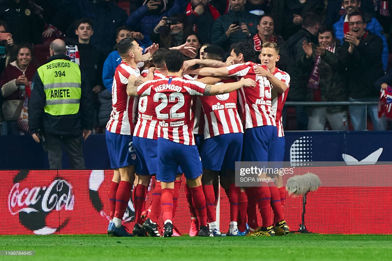 How will Atletico Madrid line-up against Liverpool?