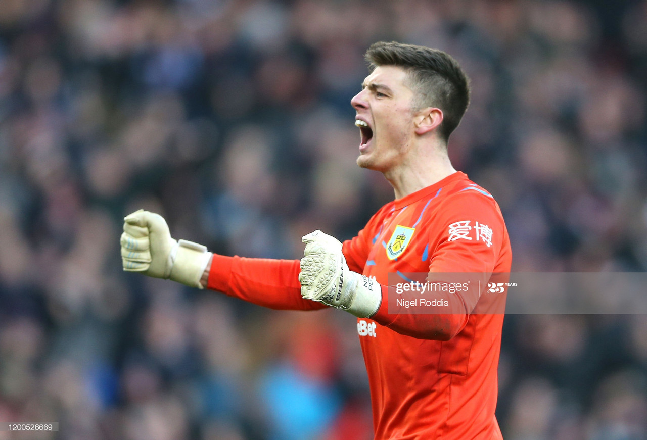 Nick Pope shortlisted for Player of the Season