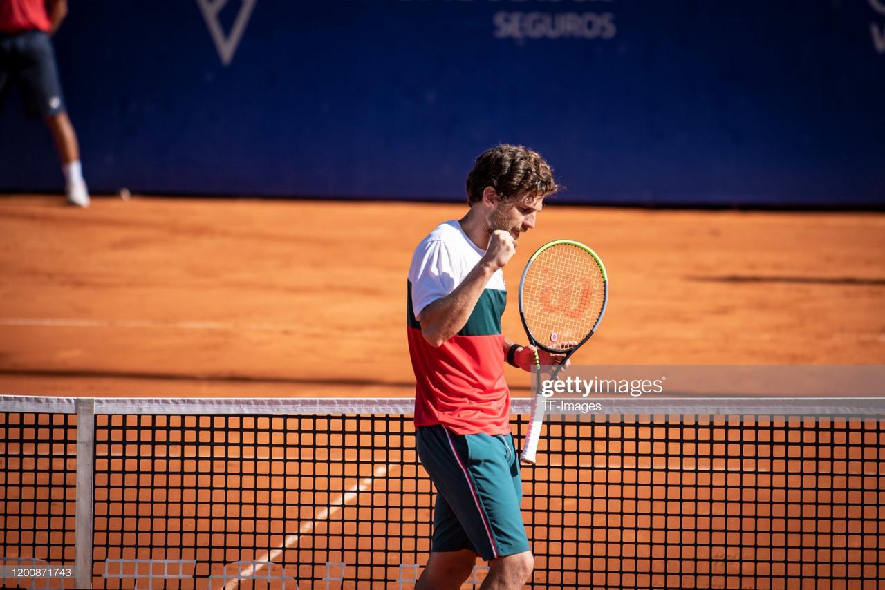 Pedro Sousa na final de Buenos Aires