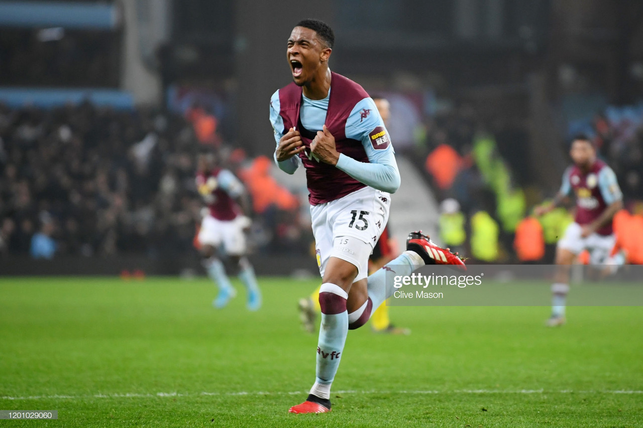 Aston Villa 2-1 Watford:Villa edge Premier League basement battle