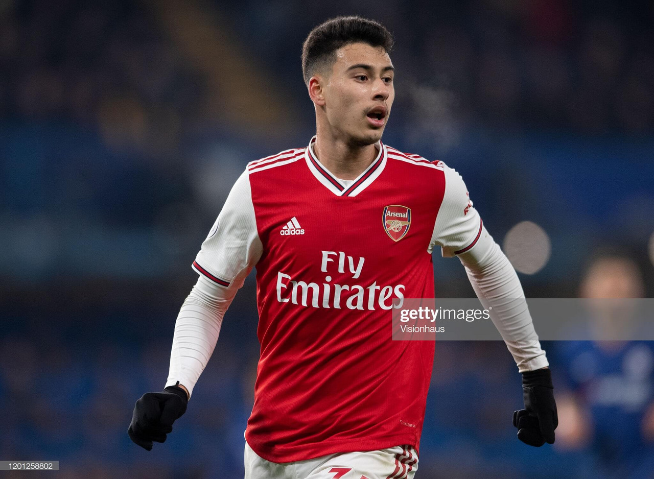 Gabriel Martinelli's courage and character key to Arsenal success as talented teen shines for Arteta