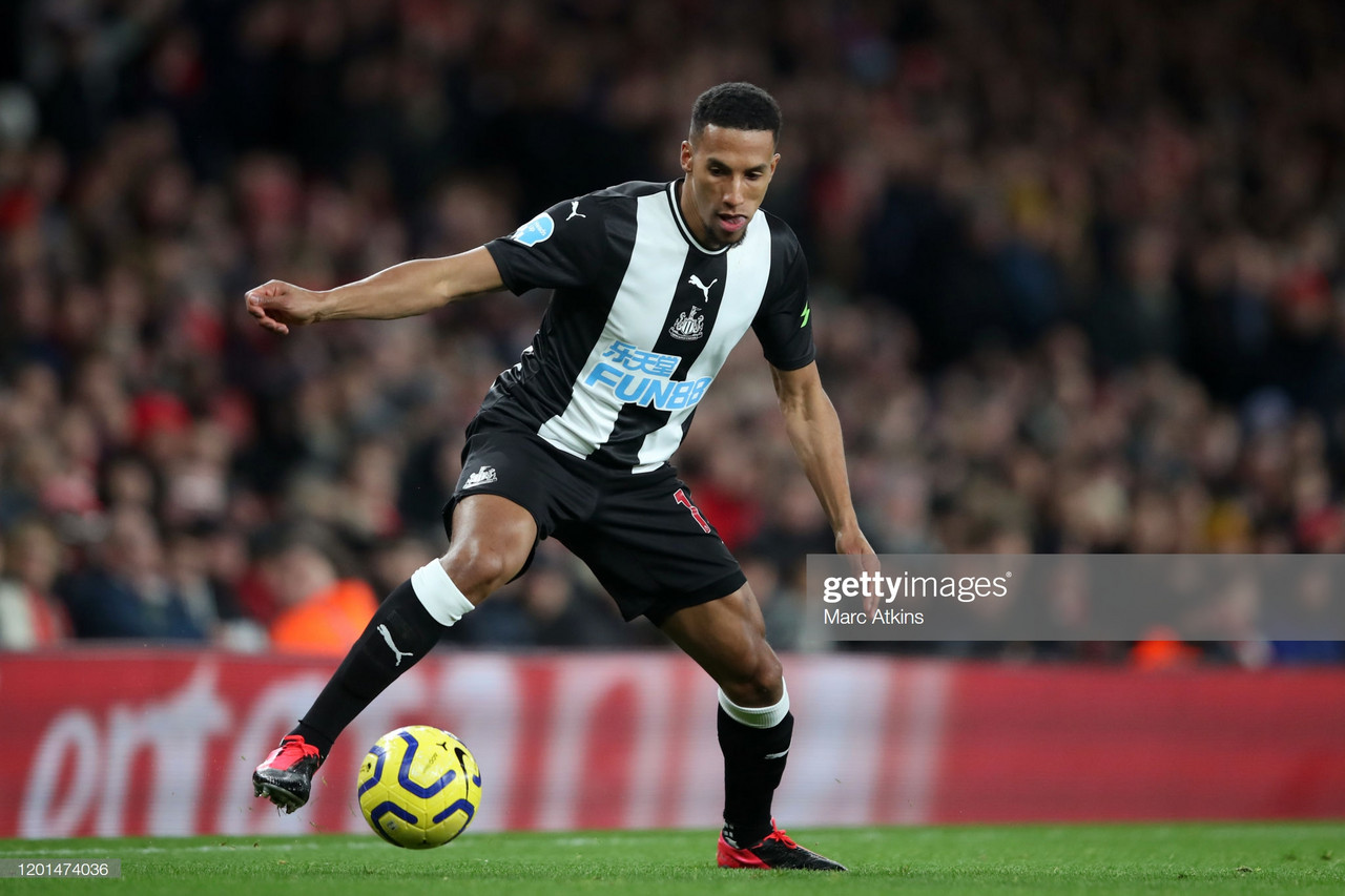 How Isaac Hayden has become an integral player for Newcastle United