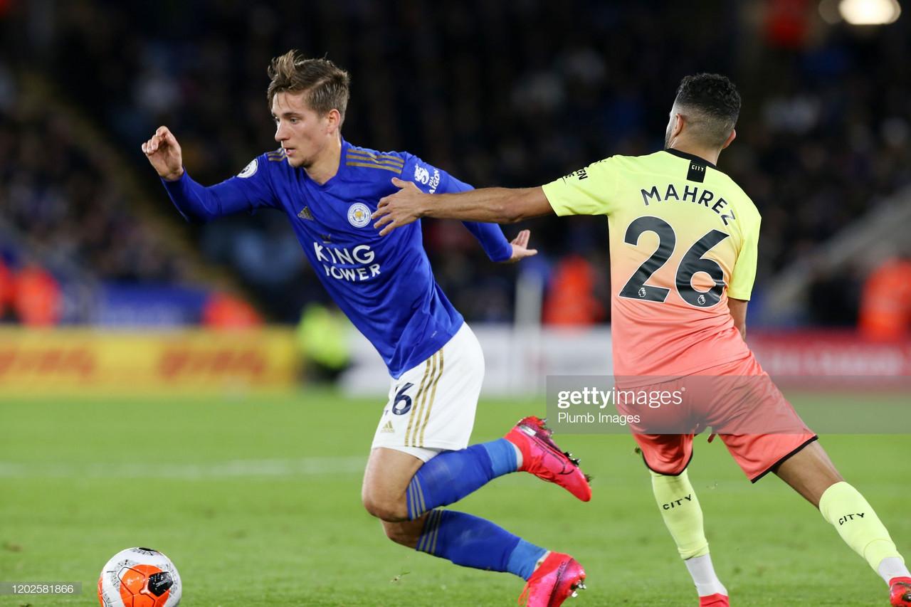 Dennis Praet: Defeat against Manchester City hard to take