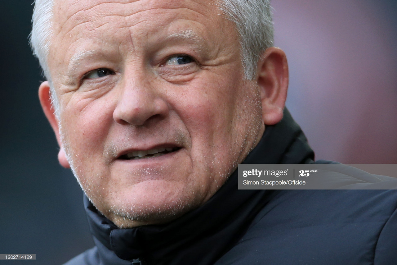 """Chris Wilder: """"We expect technology to be correct"""""""