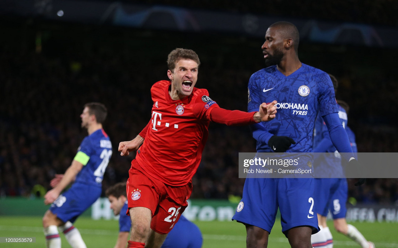 The Warm Down: Brilliant Bayern net three goals at the Bridge