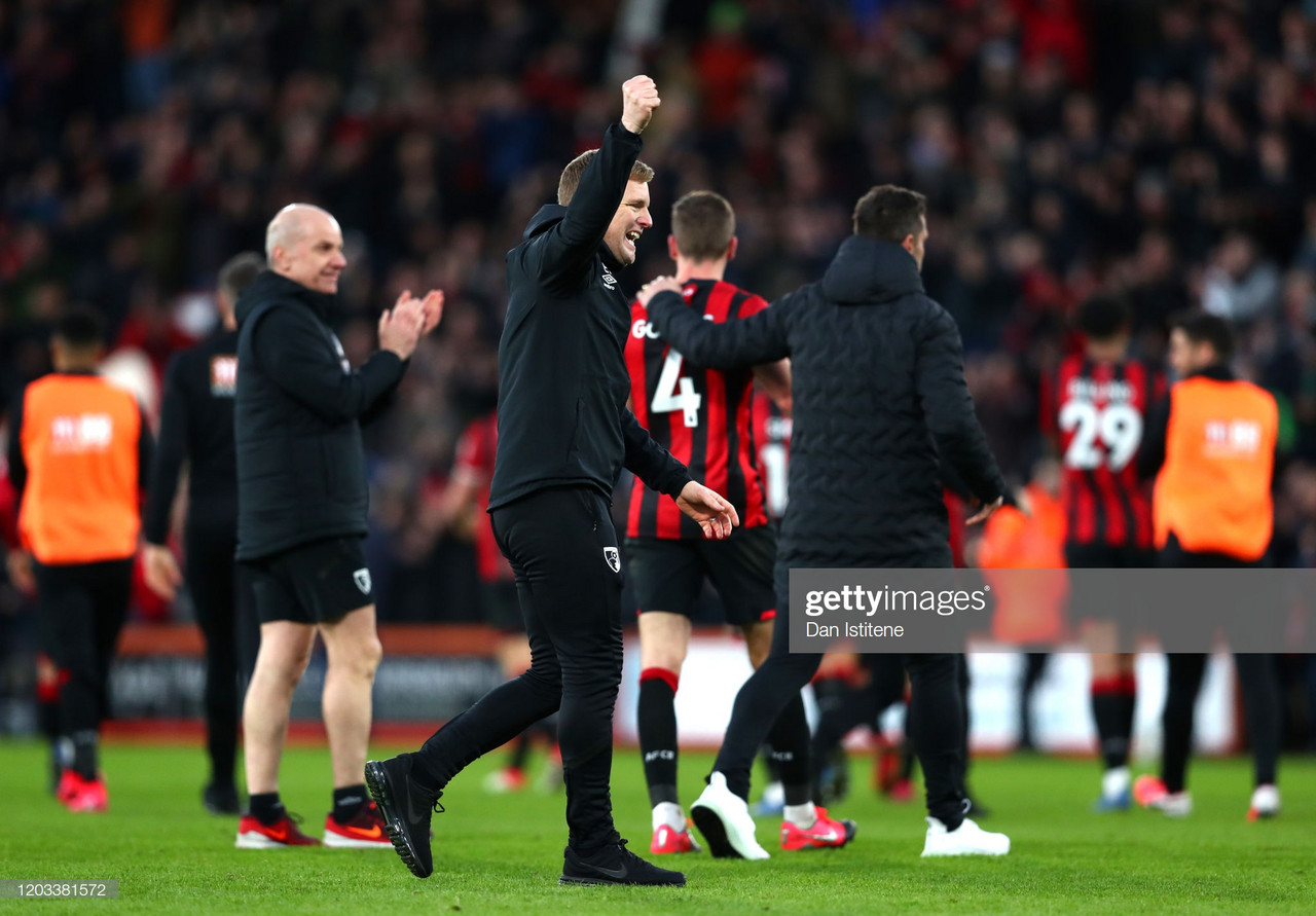 Bournemouth 2-1 Aston Villa: Cherries get the better of their relegation rivals