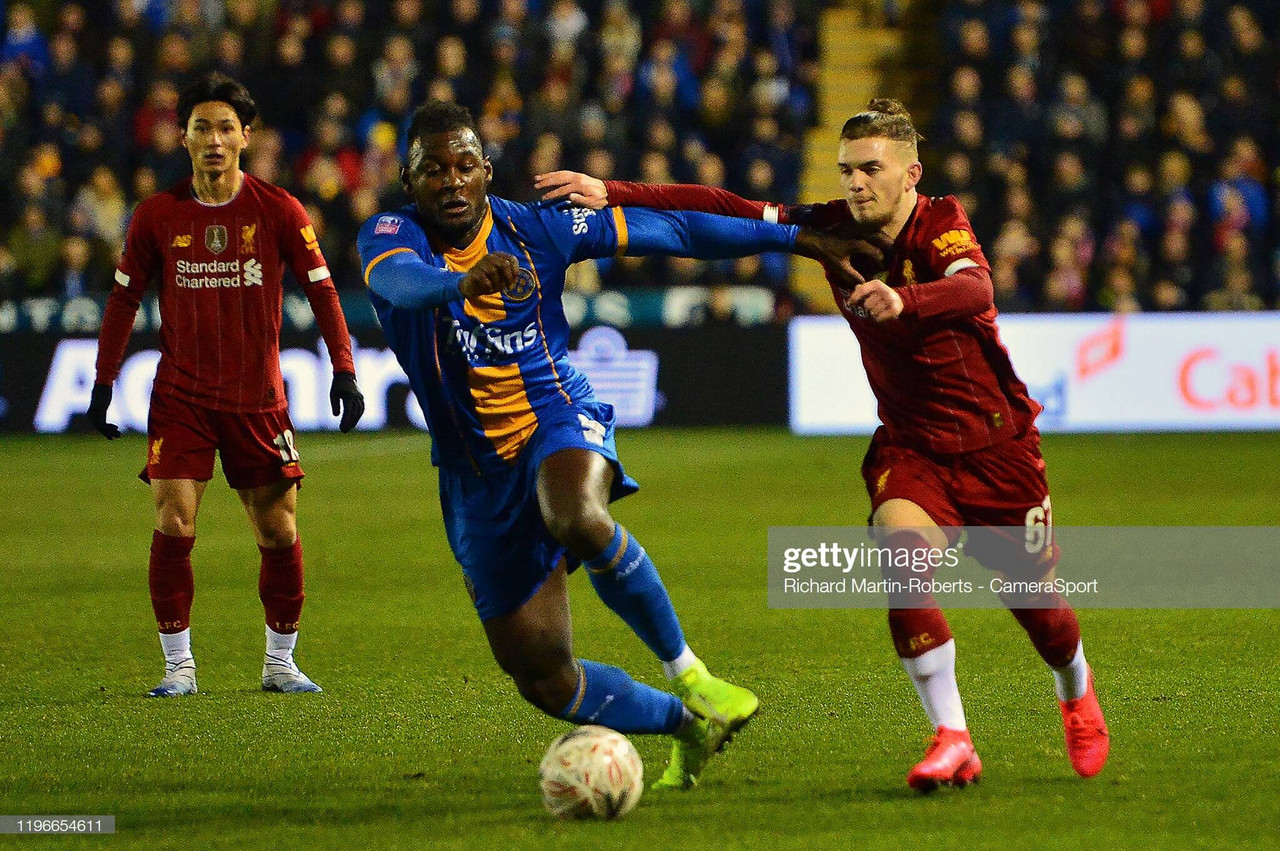 Liverpool vs Shrewsbury Preview: Youthful Reds look to book Chelsea meeting
