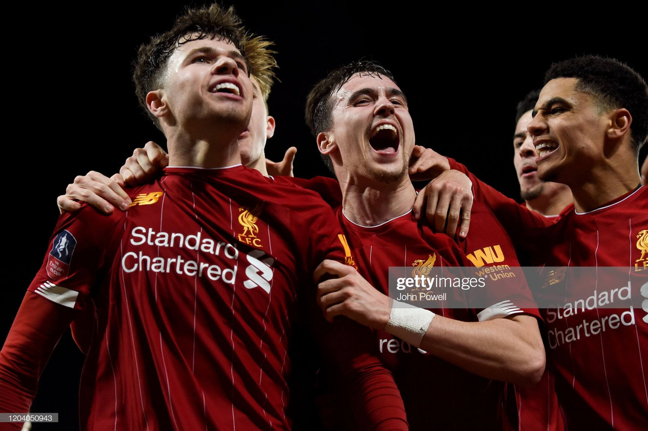 Liverpool 1-0 Shrewsbury Town: Youngest side in Reds' history earn famous win to set up FA Cup fifth-round tie against Chelsea