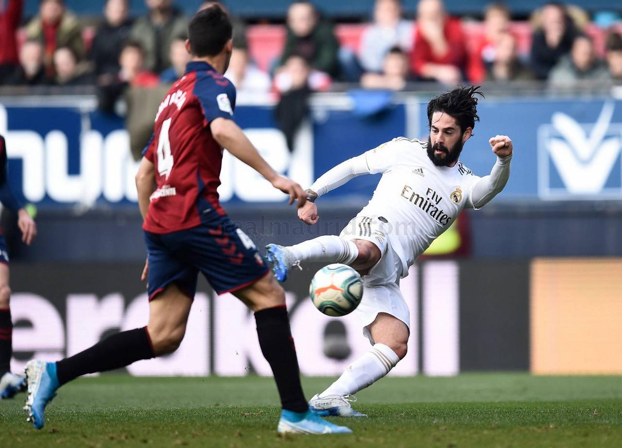 Resumen Osasuna 1-4 Real Madrid en Liga Santander