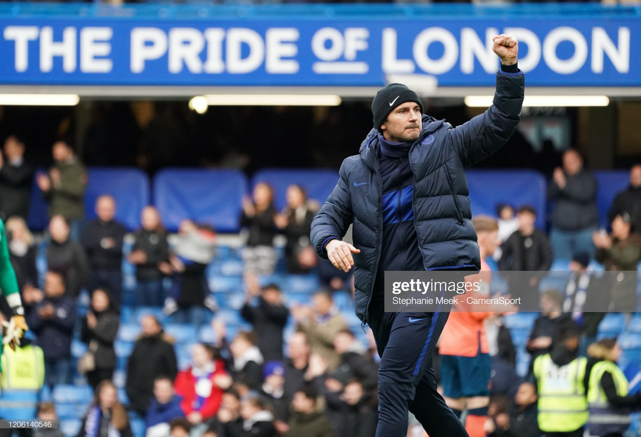 Lampard: We must stay grounded despite great performance