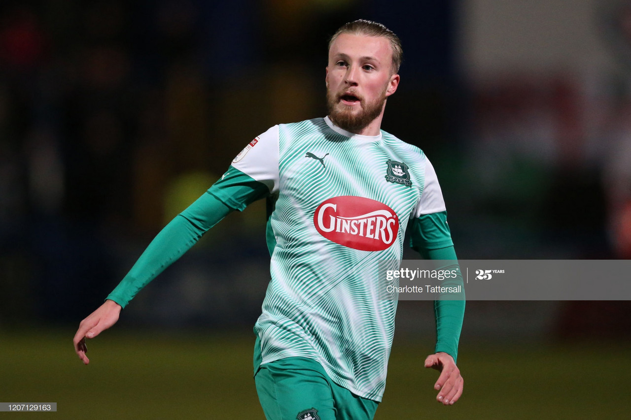 Has Coronavirus called time on George Cooper's Plymouth Argyle career?