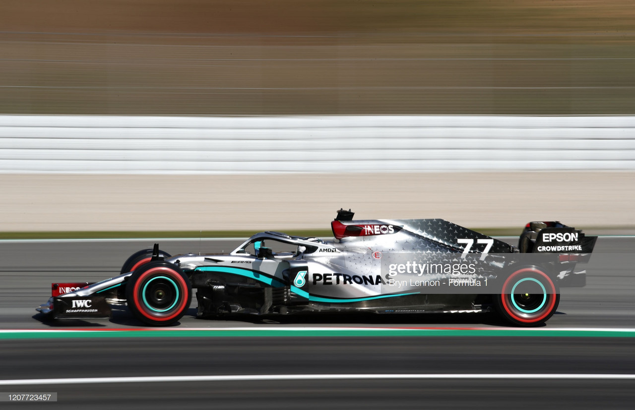 Bottas fastest as Barcelona testing draws to a close
