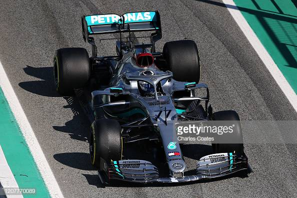 F1: Mercedes see out first week of pre-season testing in style with one-two lockout