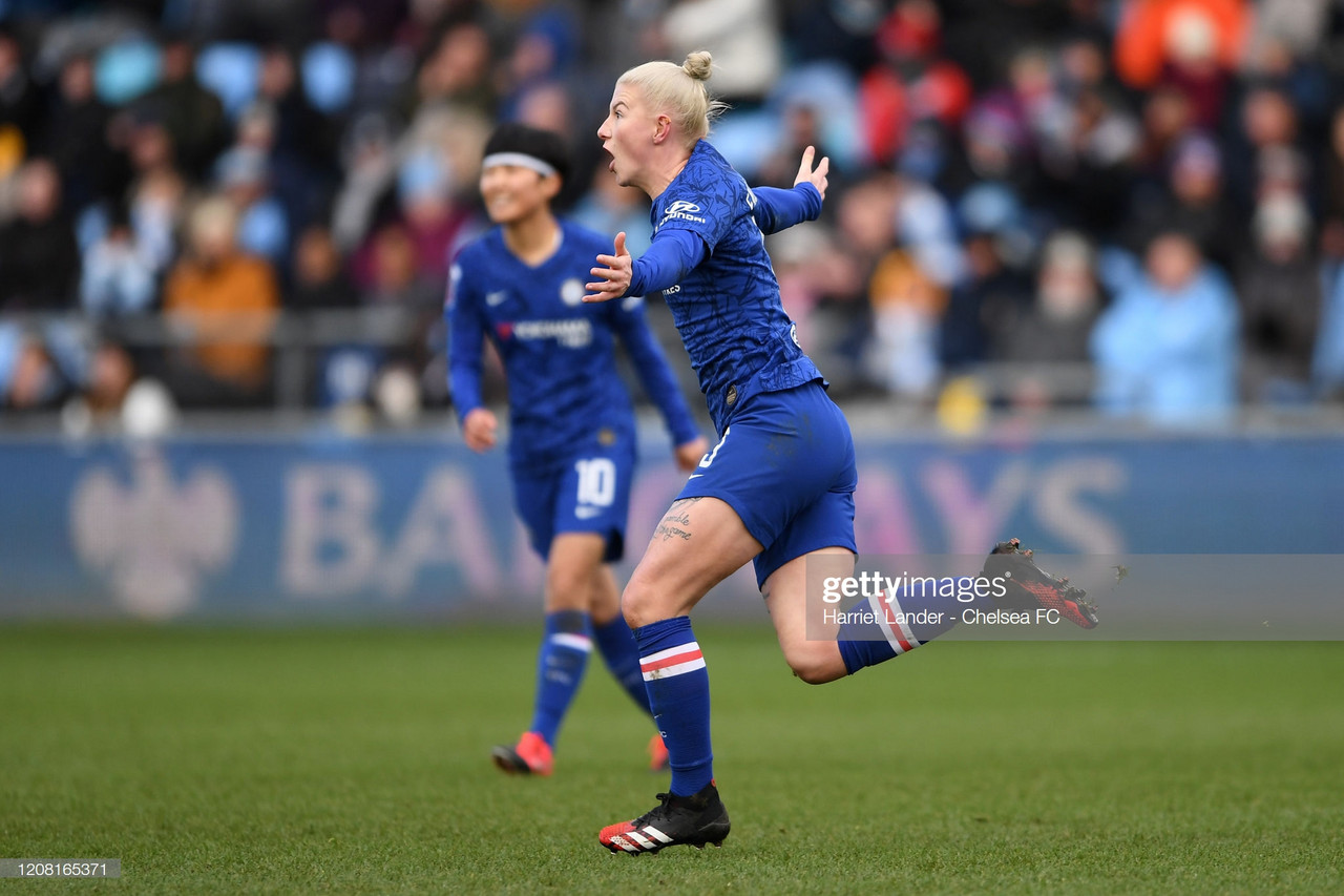 Manchester City Women 3-3 Chelsea Women: points shared in pivotal tie