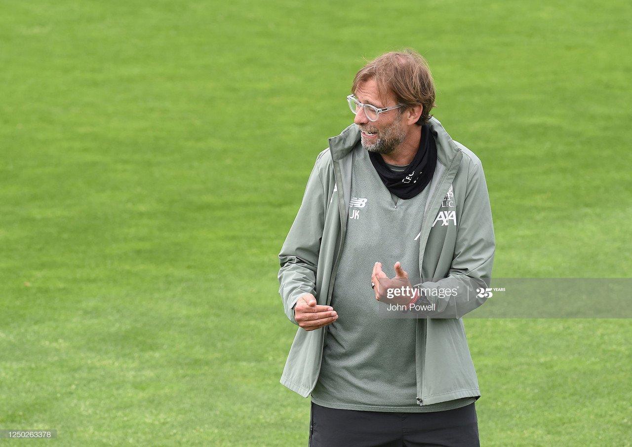 Jurgen Klopp admits he was 'worried' Premier League season would be voided