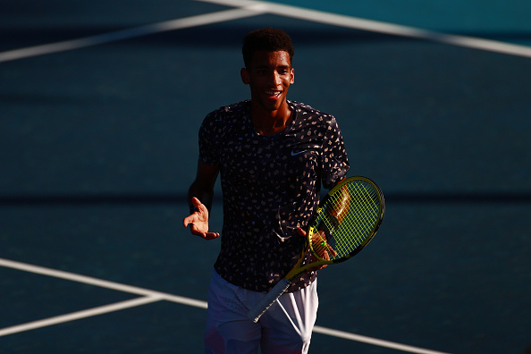 US Open: Felix Auger-Aliassime wins first round contest