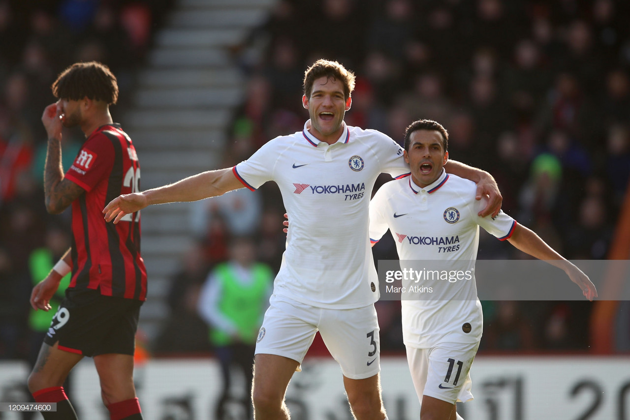 Bournemouth 2–2 Chelsea: Alonso double rescues point for Blues