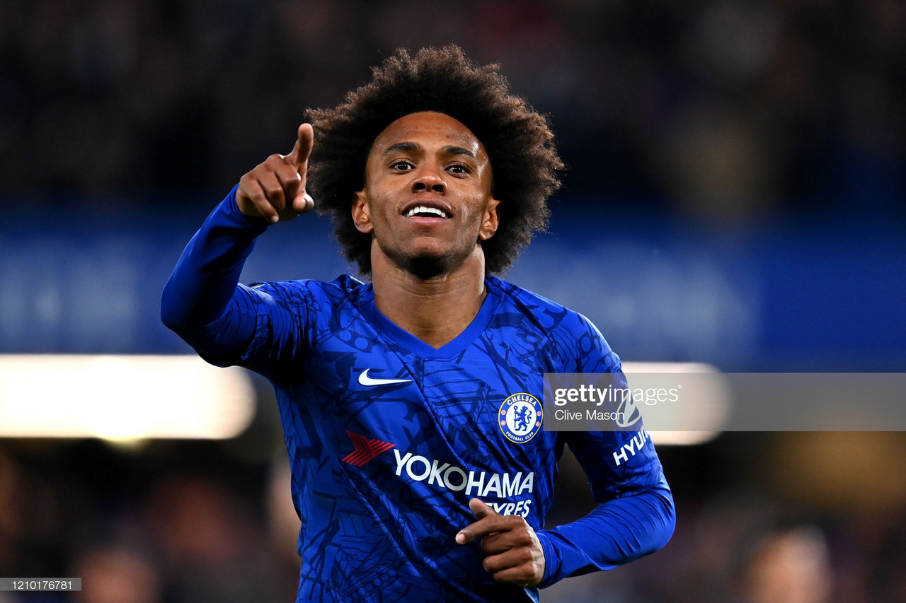Willian Confirms Reason Why Chelsea Contract Talks Have Stalled