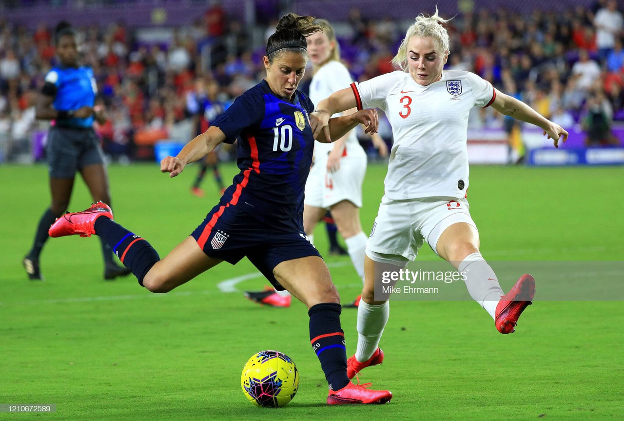 USWNT 2-0 England: Dominant USA record routine victory over Lionesses in SheBelieves Cup.