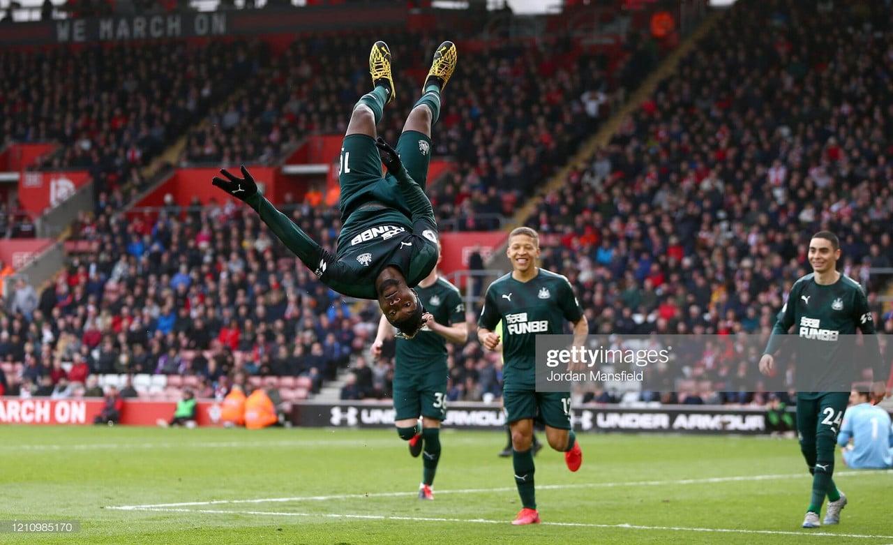 Southampton 0-1 Newcastle: Saint-Maximin strike sinks Southampton at home again