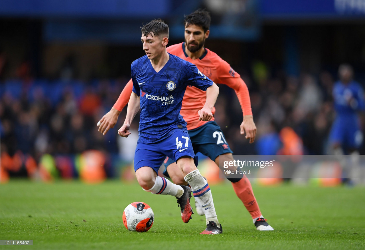 Lampard explains why Gilmour deserved a start sooner than Liverpool cup tie