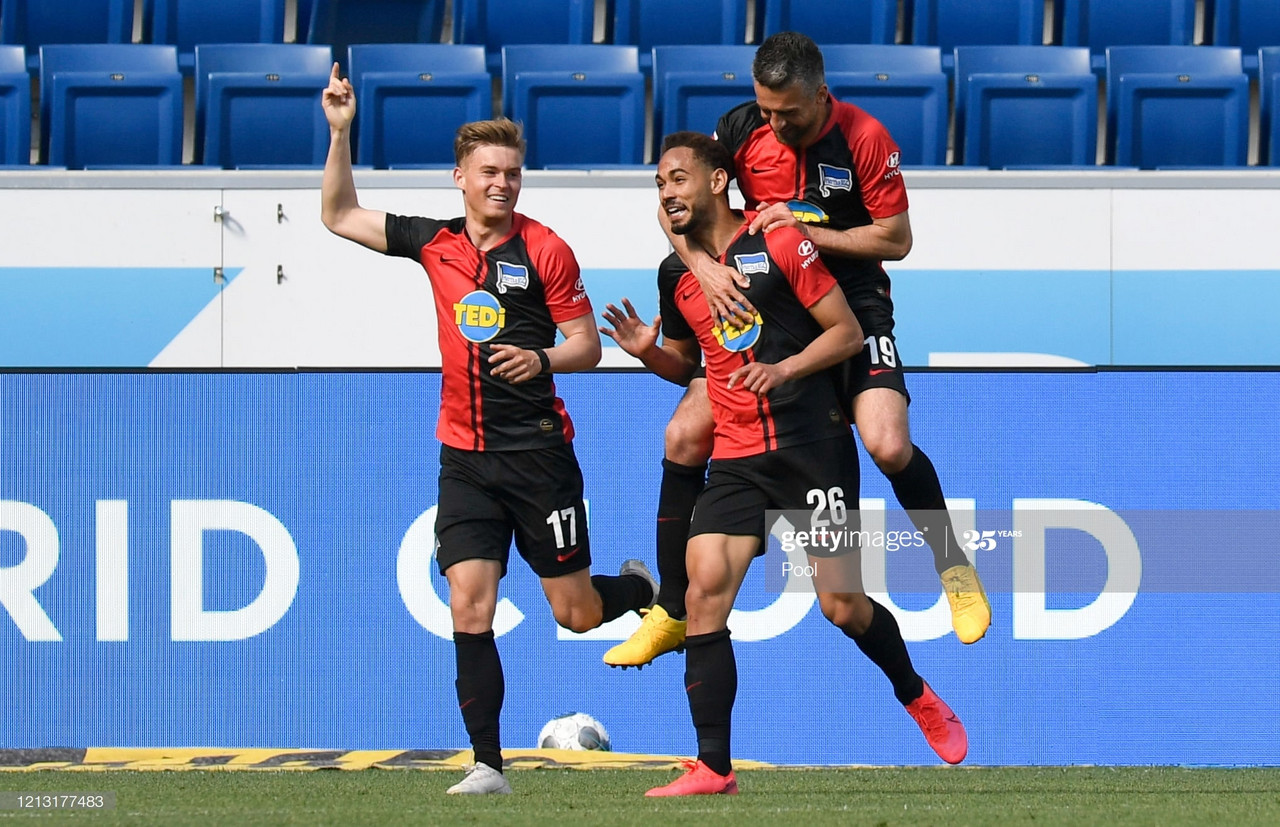 Report: Hoffenheim 0-3 Hertha BSC - Ailing visitors stun European hopefuls